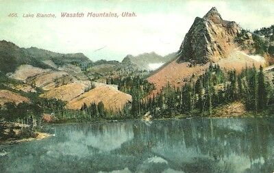 Wasatch Mountains, UT / Lake Blanche / PM Bentonsport, Iowa 1908 / Lot S611