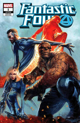 FANTASTIC FOUR #1 Gabriele Dell'Otto Variant Cover Marvel 1st Print New NM