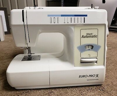 EUROPRO SHARK AUTOMATIC Sewing Machine No Power Cable Please Awesome Shark By Euro Pro X Sewing Machine