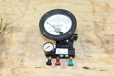 MIDWEST INSTRUMENT 845-5 Backflow Tester 5 Ports