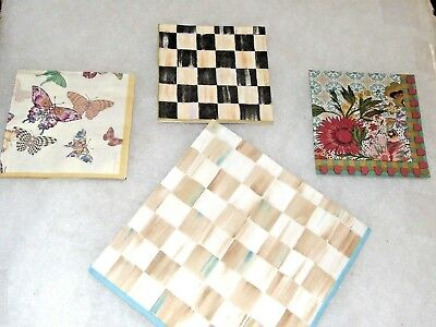 Paper Napkins for Decoupage (1 Dinner and 3 Beverage )  Mackenzie Childs