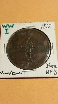 1918 World War 1 Peace Medal - so-called Dollar - HK-900