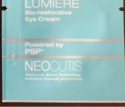 10 X Neocutis LUMIERE  Bio-Restorative EYE CREAM travel samples 1ML EACH