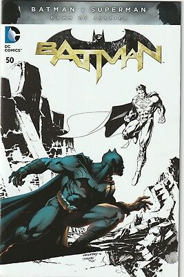 DC Batman #50 Chris Daughtry and Jim Lee Variant NM/M
