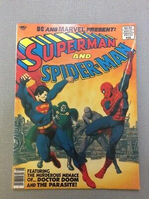 DC & Marvel Present: Superman And Spider-Man Treasury Edition #28