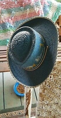 Antique Childs Western Hat Adorable!