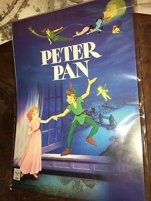 Tokyo Queen  DISNEY   PETER PAN  Stationary Set  1990's  SEALED