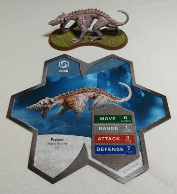 Heroscape Dund - Orms Return With Card