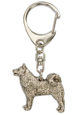 Finnish Spitz  Made in U.K  Artistic Style Dog Key Ring Collection