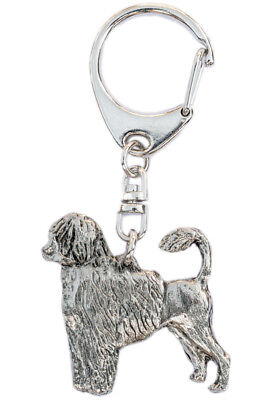 Portuguese Water Dog  Made in U.K  Artistic Style Dog Key Ring Collection