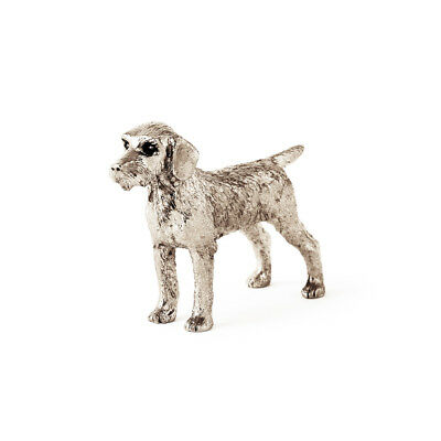 German Wire Haired Pointer  Made in UK  Artistic Style Dog Figurine Collection