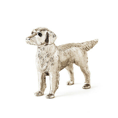 Flat Coated Retriever  Made in UK  Artistic Style Dog Figurine Collection
