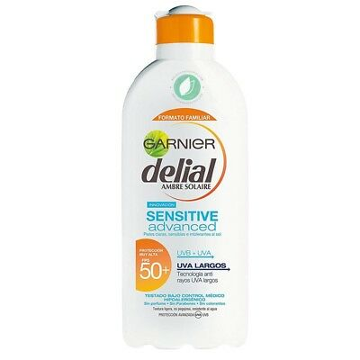 Garnier Leche Solar Delial Sensitive Advance FPS50+ - 400 ml