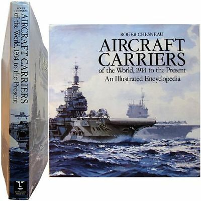 Aircraft carriers 1914 to present 1995 Roger Chesneau marine porte-avion guerre