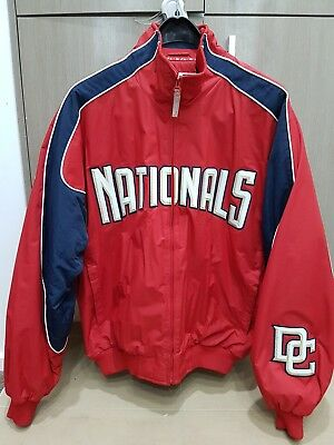 Majestic Washington Nationals Authentic Collection Jacket Size L