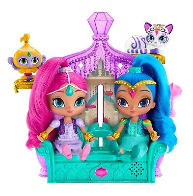 Shimmer and Shine DGL73 Float/Sing Palace Friends Playset Tala and Nahal Magical