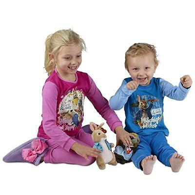 Peter Rabbit Pyjamas for Girls Boys 12 Month to 9 Years 100% Cotton Long Sleeve