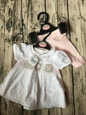 TU smock Top And Leggings - Up To 1 Mth