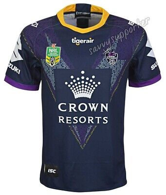 Melbourne Storm 2018 NRL Mens Heritage Jersey Sizes S-7XL BNWT