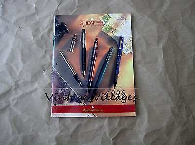 1999 Sheaffer Pen Catalog (64 Pages)
