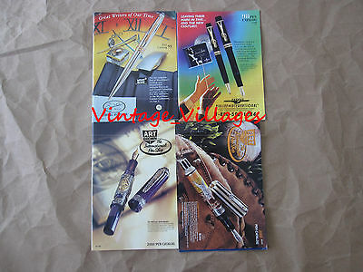 Mixed Lot of 4  Pen Catalogs (1995,1998, 2000, 2002)