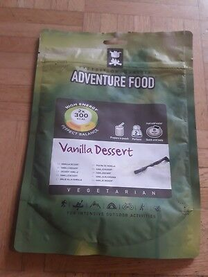 Adventure Food Doppelportion Vanilla Dessert Expeditionsessen Survival Hochtour