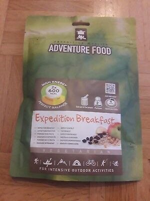 Adventure Food Expeditionsfrühstück Doppelportion 2 x 600 kcal Survival Food