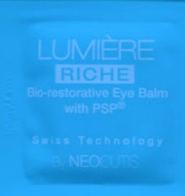 10 X Neocutis Lumiere Bio-Restorative Eye Cream TRAVEL SAMPLES 1 ML EACH