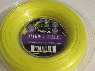 Weiss CANNON Ultra Cable 1.23mm Tennis String Reel 200m - JNQLD