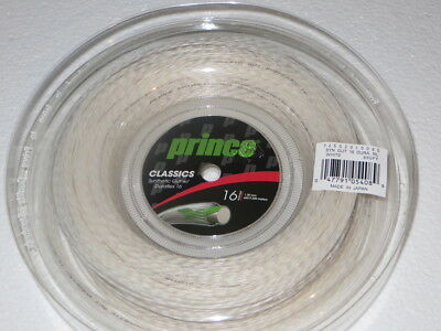 White Prince Synthetic Gut 1.30mm Reel 200 metres  JNQLD