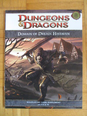Dungeons & Dragons Supplement Domain of Dread Histaven Fourth Edition 4th D&D DM