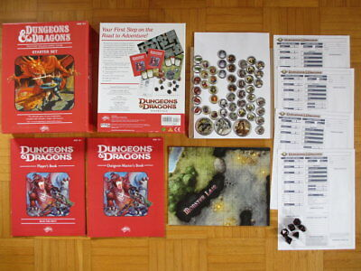 Dungeons & Dragons Starter Set Box Set + Map Tokens - Fourth Edition 4th D&D DM