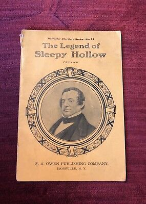 Instructor Literature Series #12 'The Legend of Sleepy Hollow' Washington Irving