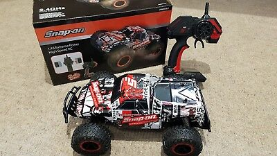 SNAP ON 1:16 RC Radio Controlled Extreme Power High Speed Car Truck