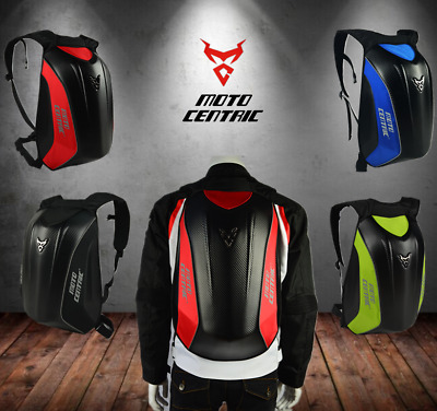 Motorcycle Backpack Motocross Riding Racing Storage Carbon Fiber Helmet Backpack