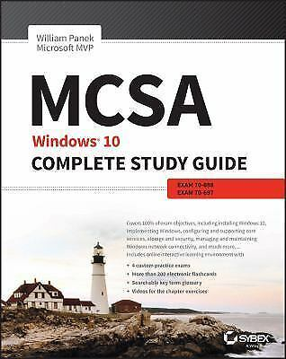 PDF MCSA Windows 10 STUDY GUIDE. Exams 70-697 and 70-698 PDF Bundle