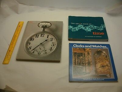 Book 401 – Lot of 3 watch and clock books