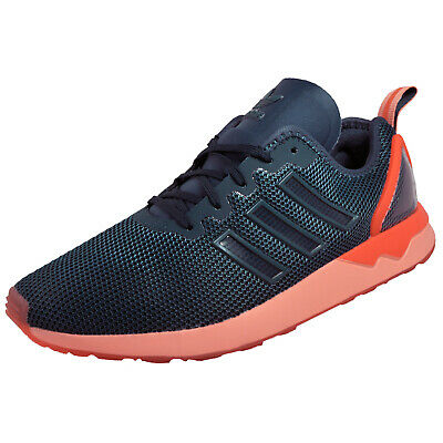 bfcb025d47a4d Adidas Originals ZX Flux ADV Mens Classic Casual Running Gym Trainers Navy