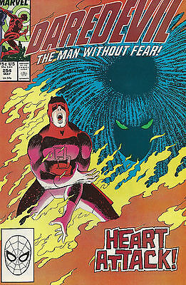 Daredevil #254 (May 1988 Marvel) First Appearance Typhoid Mary