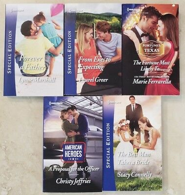 LOT OF 10 Harlequin Special Edition and American Romance