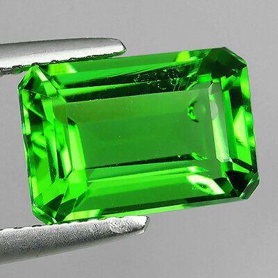3.08 Ct Ebay Fabulous Chrome Green Natural Moldavite Octagon Cut Loose Gemstones