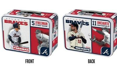 Atlanta Braves Back To School metal Lunchbox Suntrust Freddie Ender special tkt