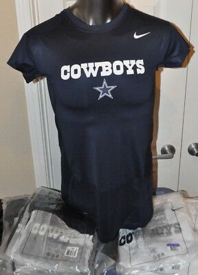 New Dallas Cowboys NFL Football Nike On Field Dri-Fit Shirt short Sleeve Sz L-4X