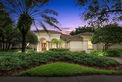Palm Harbor Home in Highlands of Innisbrook.  Golf Course home on Island Course