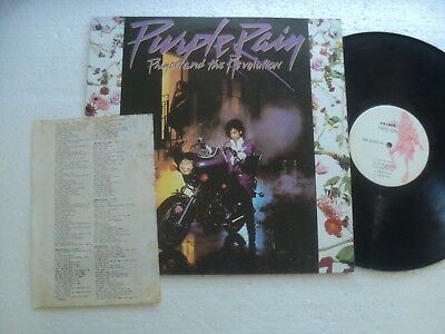 PRINCE & the Revolution - Purple Rain - Rare/ unknown Taiwan official release LP