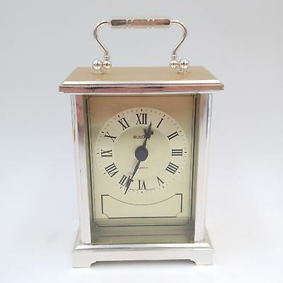 Vintage Bulova Quartz Table Top Clock made in West Germany