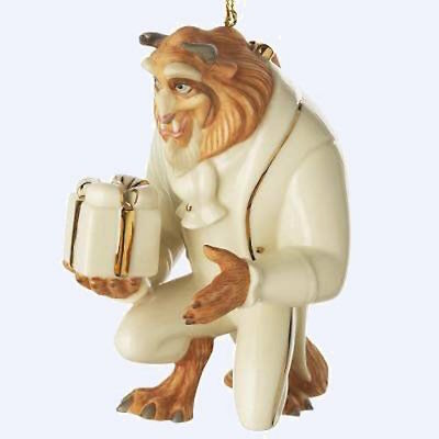 Lenox Beauty & The Beast Ornament New RARE!!! HTF!!!