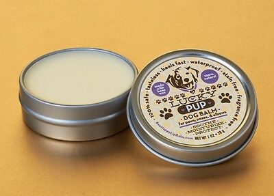 Lucky Pup Dog Healing Balm Wax for Paws, Noses and Elbows slim tin -All Natural