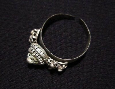 MARVELOUS FILIGREE SILVER LADY RING DATING EARLY 20th. CENTURY!!!