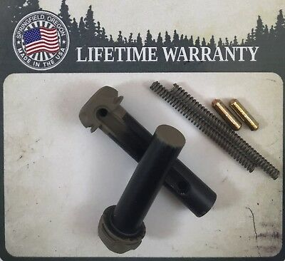 Timber Creek Takedown Pivot Pin Set + Detents & Springs - Fde - Made In Usa